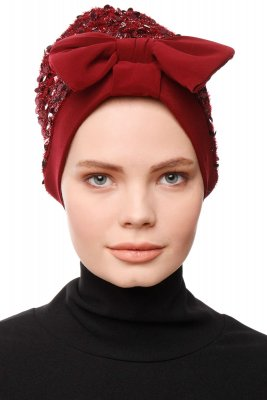 Enfleda - Turban Bordeaux