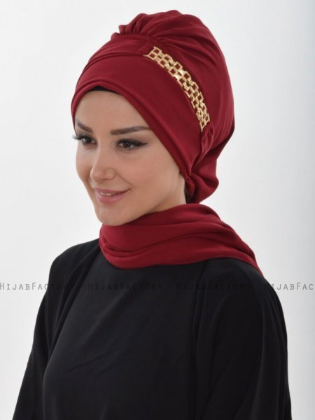 Beatrice Bordeaux Turban Ayse Turban 320906a