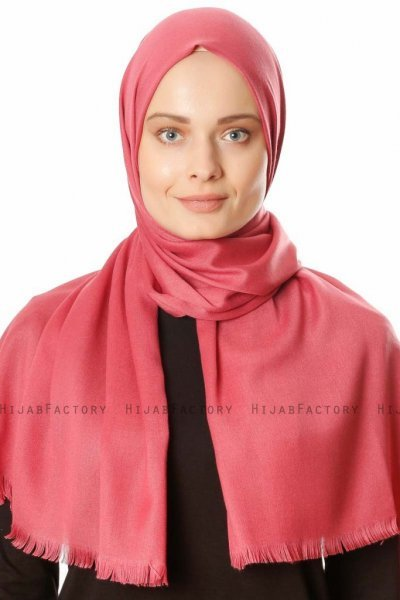 Ece - Hijab Pashmina Rose Antique